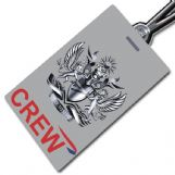 British Airways Crest Tag